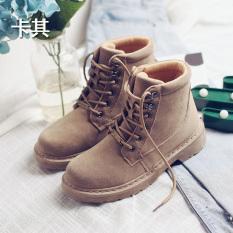 Jual Bair Kasual Mahasiswa Yang Berat Itu Sepatu Bot Inggris Martin Sepatu J18De W603 Khaki Branded