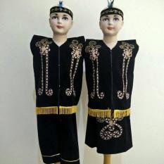 Baju Adat Dayak Anak / Pakaian Adat Dayak (Kalimantan Timur) - Mqtsnv