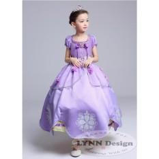 Lynn Design- Baju Dress Kostum Anak Disney Princess Sofia _ Frozen Friends