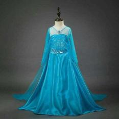 BAJU ANAK DRESS KOSTUM FROZEN ELSA