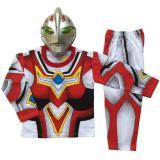 Jual Baju Anak Kostum Topeng Superhero Ultraman Go 1 Set Size 4 6 1 2 Tahun Branded Murah