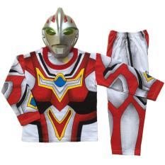 Baju Anak Kostum Topeng Superhero Ultraman Go - 1 set  SIZE 4-6 (1-2 TAHUN)