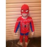 Spek Baju Anak Stelan Kostum Spiderman 1 10 Tahun Baju Anak Murah Baju Anak