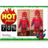 Harga Baju Anak Stelan Kostum Spiderman Universal Original