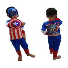 Tips Beli Baju Anak Superhero Kostum Captain America Yang Bagus
