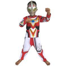 Baju Anak Superhero Kostum Ultraman Go