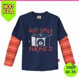 Harga Baju Anak T Shirt Kaos Atasan Karakter Laki Cowo Cewe Hoofla Hs 34 New