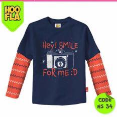 Obral Baju Anak T Shirt Kaos Atasan Karakter Laki Cowo Cewe Hoofla Hs 34 Murah