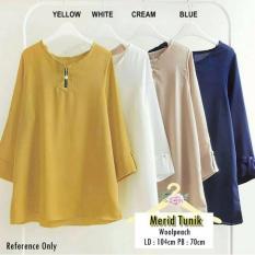 Spesifikasi Baju Atasan Blouse Merid Tunik Baju Muslim Blus Muslim Terbaru
