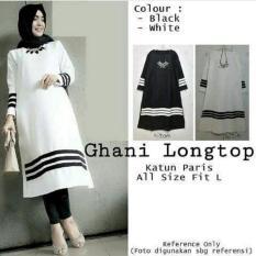 Baju Atasan Blouse Tunik Wanita Baju Muslim Blus Muslim Ghani Longtop
