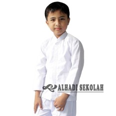 Baju Atasan Koko Muslim Lengan Panjang, UKURAN. 8, 9, 10, 11, 12, 13. Busana Muslim Anak Laki-Laki (BKM001-01)