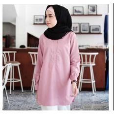 Baju Atasan Wanita Baju Murah Baju Tunik Daily Tunik pink