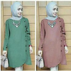 Baju Atasan Wanita Baju Murah Muslim Blouse Tunik Hijab Kode MC65009