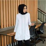 Harga Baju Atasan Wanita Cewek Putih Paula Top White Branded