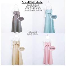 Baju Atasan Wanita Overall Set Labella