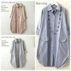 Reyn Shop Blouse Erkud Top Putih Tunik Wanita Baju Atasan Baju Source Baju .