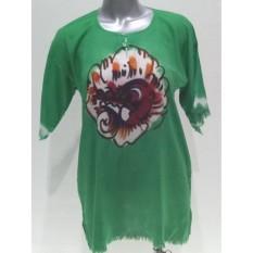 Baju Barong Lukis Bali - (Hijau)