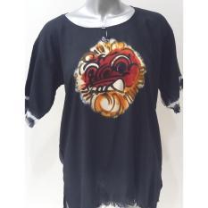 Baju Barong Lukis Bali - (Hitam) Baju Santai
