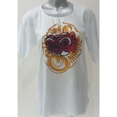 Baju Barong Lukis - (Putih) Bali Baju Santai