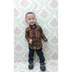 Baju batik anak laki motif garuda1