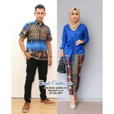 Batik Couple / Baju Batik Sarimbit  Cantika Pita