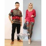 Harga Batik Couple Baju Batik Sarimbit Cantika Pita Satu Set
