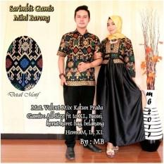 Batik Couple / Baju Batik Sarimbit Gamis Mini Barong