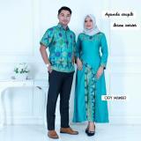 Promo Toko Batik Couple Batik Sarimbit Ayunda Couple Toska