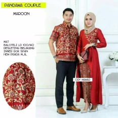 Batik Couple / Batik Sarimbit Pandawa Couple - MARUN