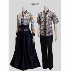 TERMURAH – Baju Batik Couple - Kebaya Couple Modern - Couple Batik – Batik  Sarimbit -  Baju Gamis Wanita Terbaru -  Batik Kondangan - SRG 421