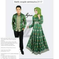 Baju Batik Couple Semi Sutra Lengan Panjang