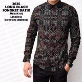 Jual Baju Batik Kemeja Batik Pria Batik Long Black Batik Songket New Design Grosir Batik Murah Di Bawah Harga