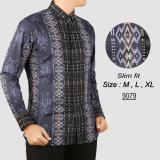Cara Beli Baju Batik Modern Kemeja Pria Slim Fit 9079
