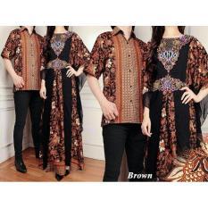 Baju Batik Pasangan Pesta / Kemeja Batik Pasangan Kondangan / Couple Batik Kaftan Sutra RAFFI
