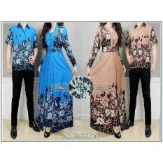 Baju Batik Pasangan Pesta / Kemeja Batik Pasangan Kondangan / Couple Muslim Batik Mariana