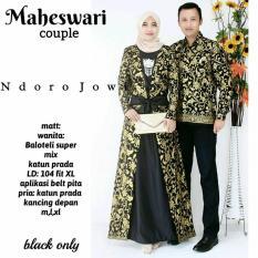 Baju Batik Sarimbit Gamis Couple