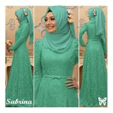 UC Baju Gamis Dress Muslim / Gamis Muslim Mutiara / Hijab Wanita / Jilbab / Gaun Dress Muslimah (Brinasa) SS - Tosca D2C