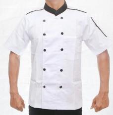 Baju chef pria wanita (lis hitam)