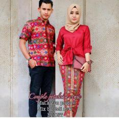 Toko Baju Couple Batik Couple Batik Sarimbit Pitaloka Etnic Termurah
