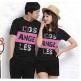 Spesifikasi Baju Couple Los Angeles Black 10610 Baju Couple Kaos Couple Baju Pasangan Soulmate Multi