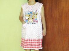 Baju Daster Ibu Hamil Panjang Big Size/Besardaster Menyusui Karakter