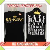 Jual Baju Distro Drag Racing Rx King Mahkota Combed Ori