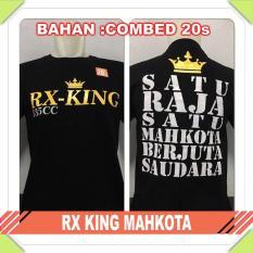 Harga Baju Distro Drag Racing Rx King Mahkota Combed Termurah