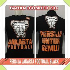 Baju distro PERSIJA JAKARTA FOOTBALL BLACK