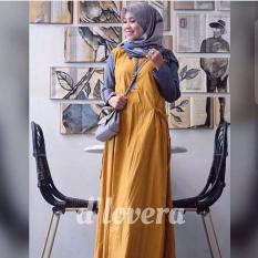 Baju Dress Andien - Yellow