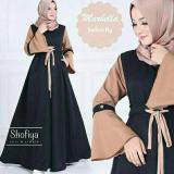 Jual Beli Baju Dress Gamis Murah Marbella Dress Black Di Indonesia