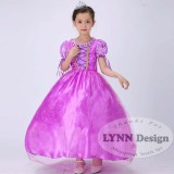 Jual Lynn Design Baju Dress Kostum Anak Rapunzel Premium Branded Original