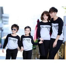 Toko Baju Family Couple Kaos Pasangan Keluarga 2 Anak Lengan Panjang Pusple Online Di North Sumatra
