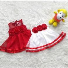 baju fashion dress gaun cheongsam tas imlek merah anak bayi perempuan