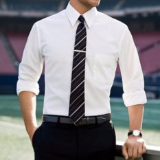Toko Baju Formal Putih Polos Kemeja Formal Pria Baju Kantor Kemeja Fasion